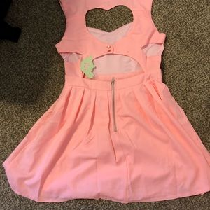 Cut out heart Dress